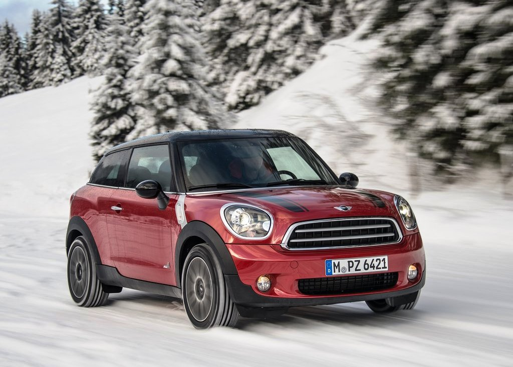 2014 Mini Paceman All4 Front Angle (Photo 3 of 6)