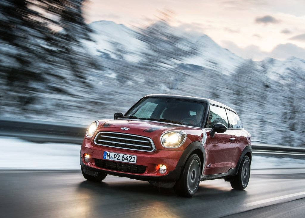 Featured Image of 2014 Mini Paceman ALL4 Review