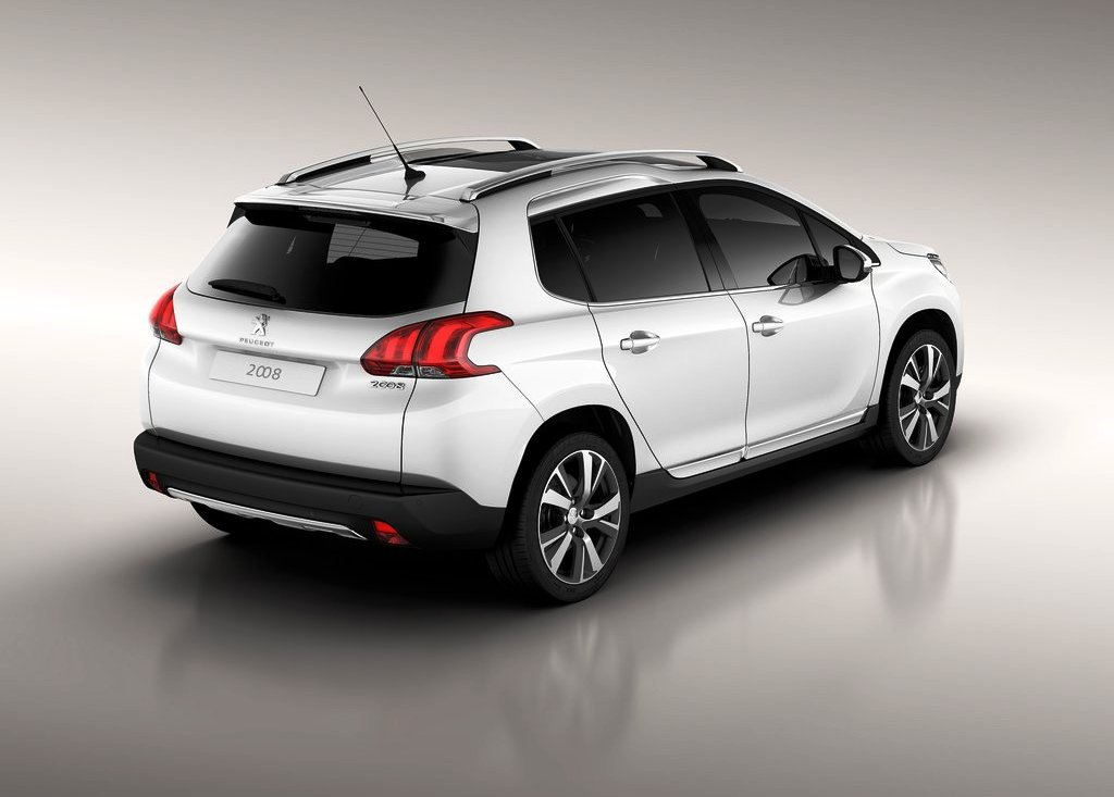 2014 Peugeot 2008 Rear Angle (Photo 3 of 4)