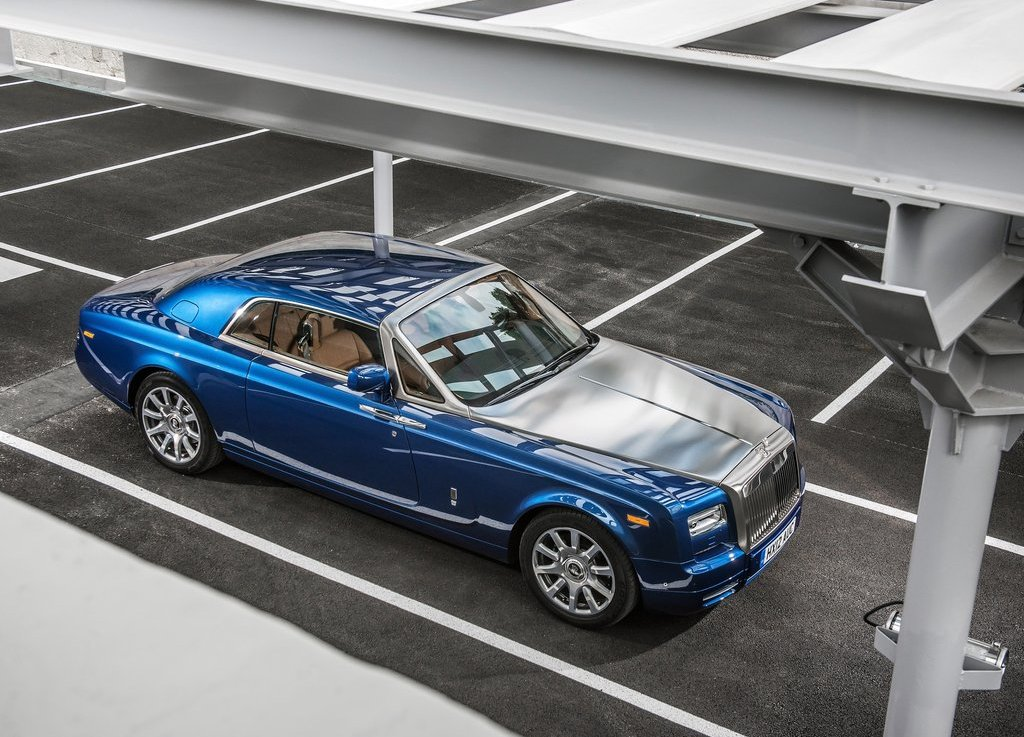 2014 Rolls Royce Phantom Coupe Top View (Photo 5 of 7)