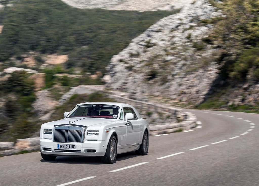 2014 Rolls Royce Phantom Coupe White (Photo 7 of 7)