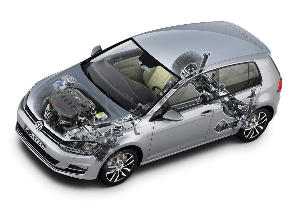 2014 Volkswagen Golf 4motion Engine (Photo 2 of 8)