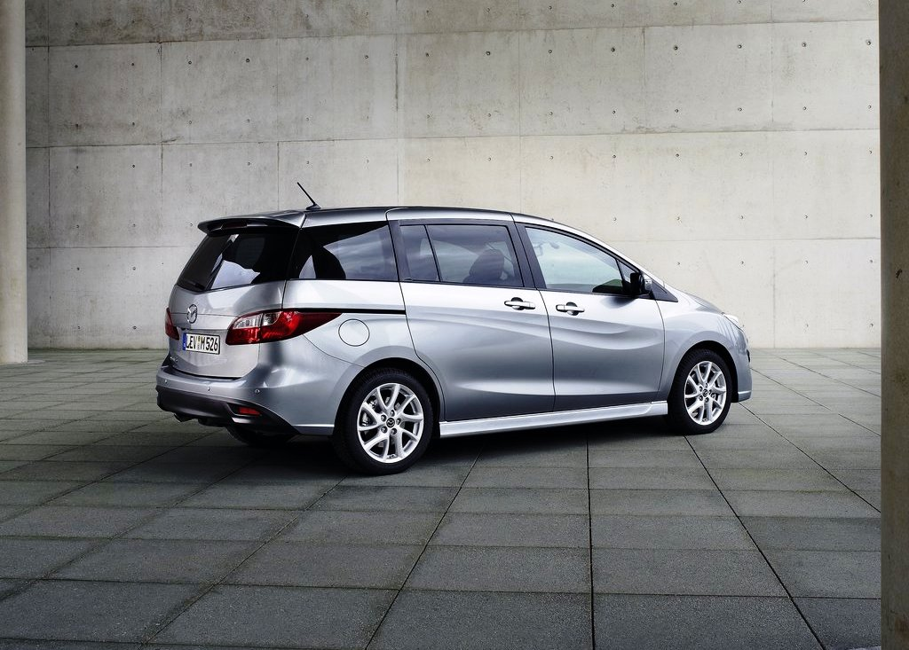 2013 Mazda 5 Rear (View 5 of 7)