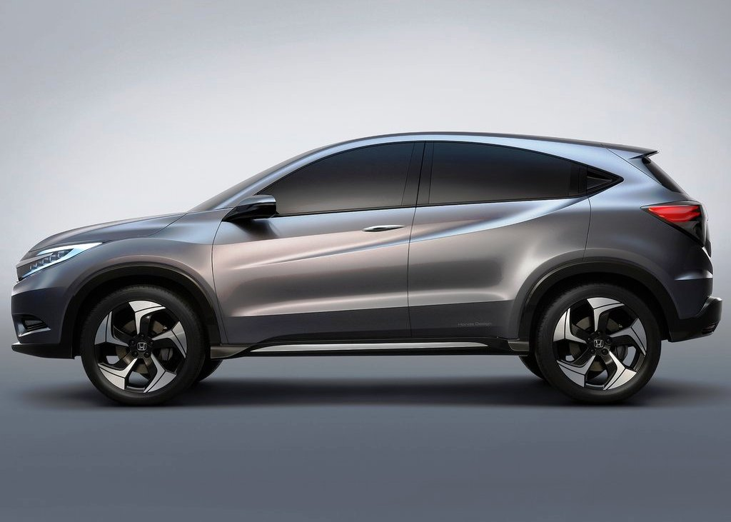 2013 Honda Urban Suv Concept Side View (Photo 4 of 5)