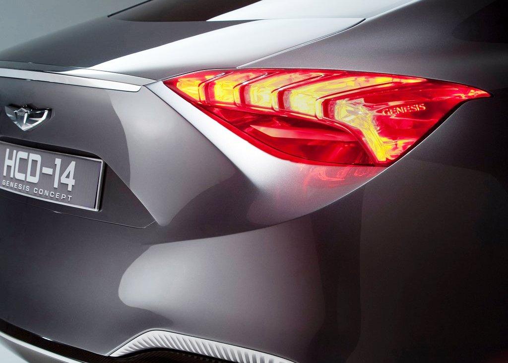 2013 Hyundai Genesis Tail Lamp (View 5 of 7)