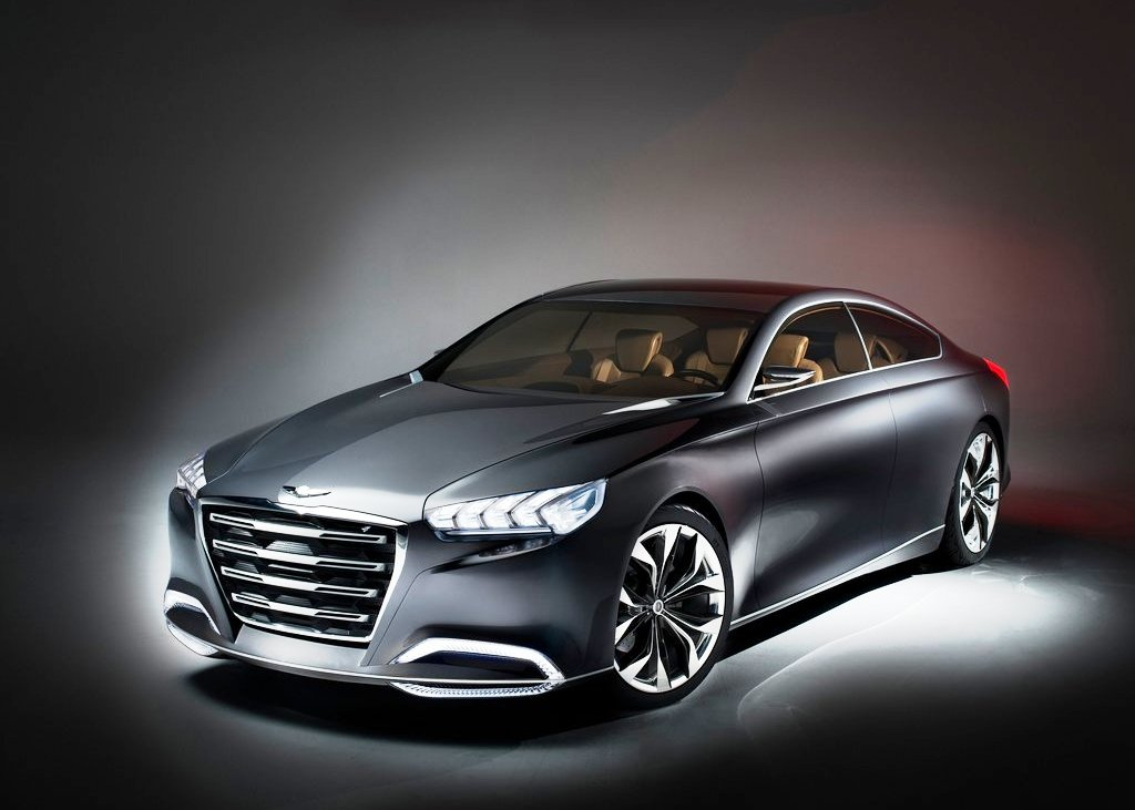 Featured Image of 2013 Hyundai Genesis HCD 14 Unveiled At Detroit
