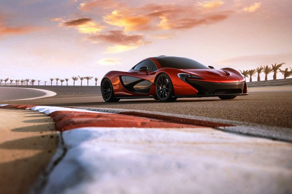 2014 McLaren P1 Wallpaper (Photo 7 of 7)
