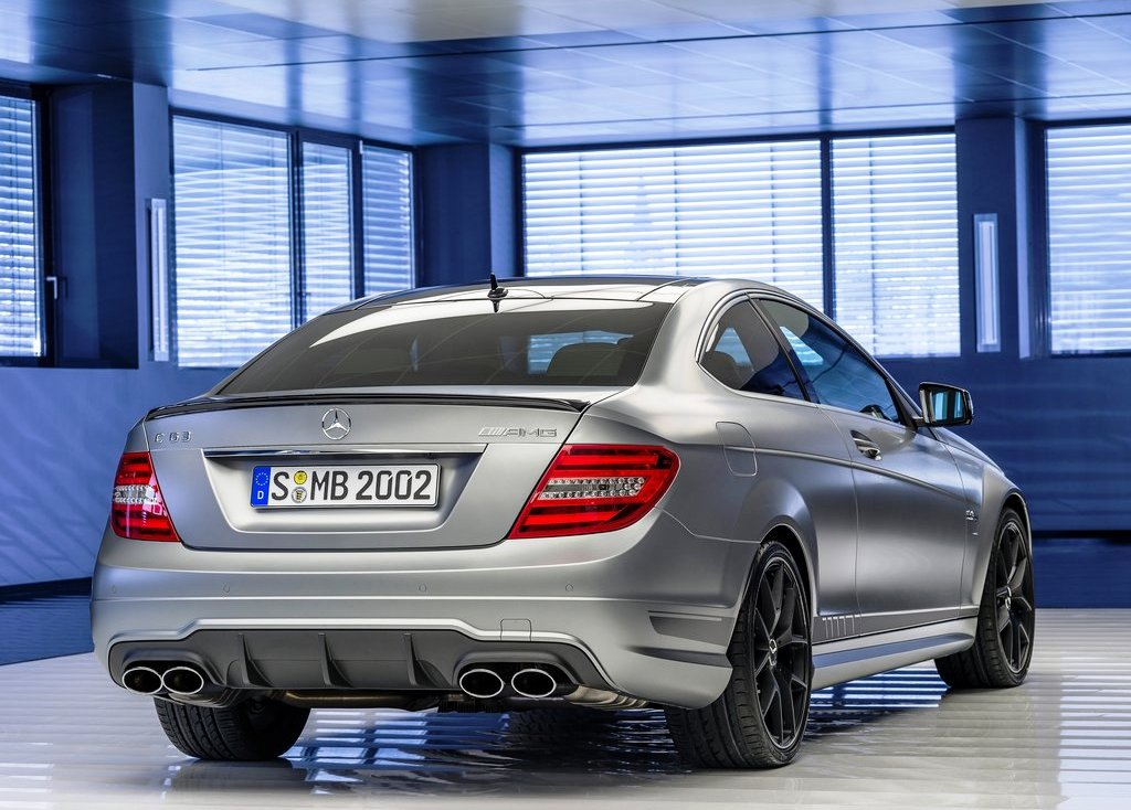 2014 Mercedes C63 AMG Rear (Photo 5 of 7)