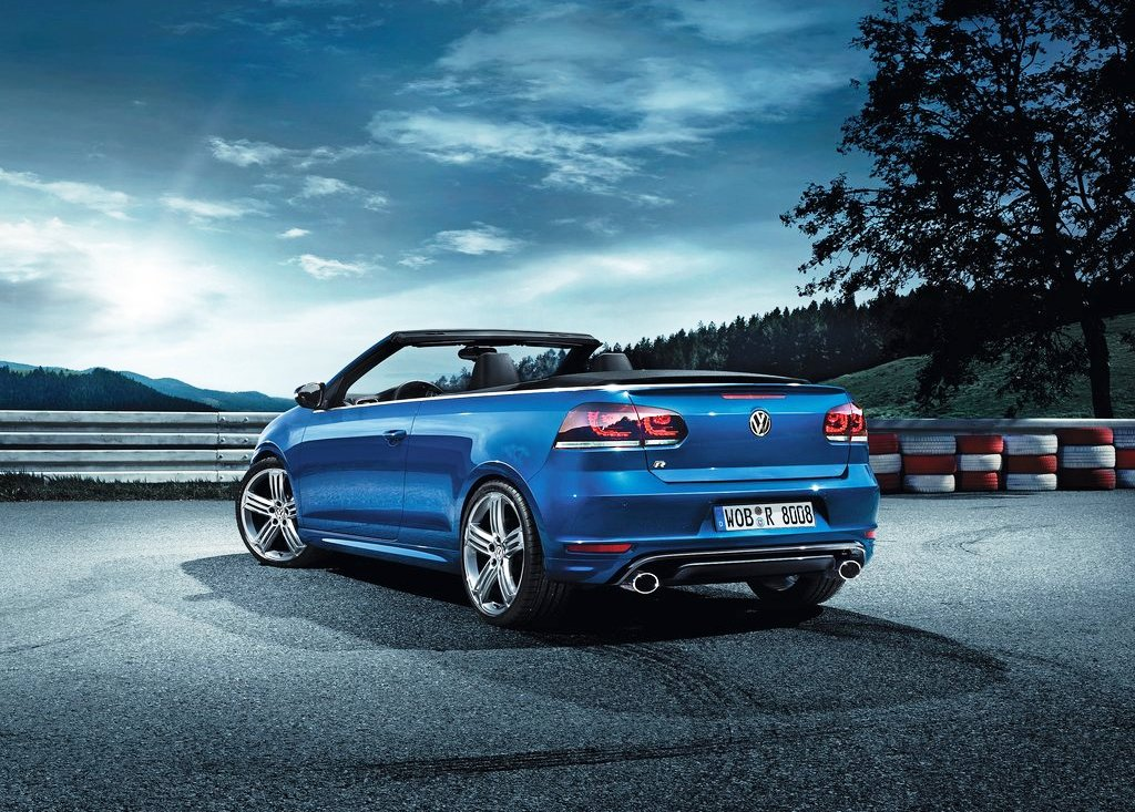 2014 Volkswagen Golf R Cabriolet Rear (Photo 4 of 6)