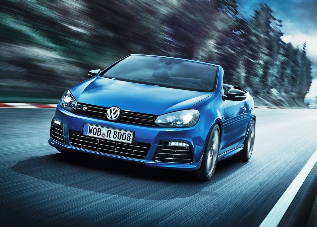2014 Volkswagen Golf R Cabriolet Wallpaper (Photo 6 of 6)