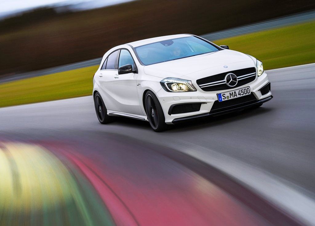 2014 Mercedes Benz A45 Amg Wallpaper (Photo 8 of 8)