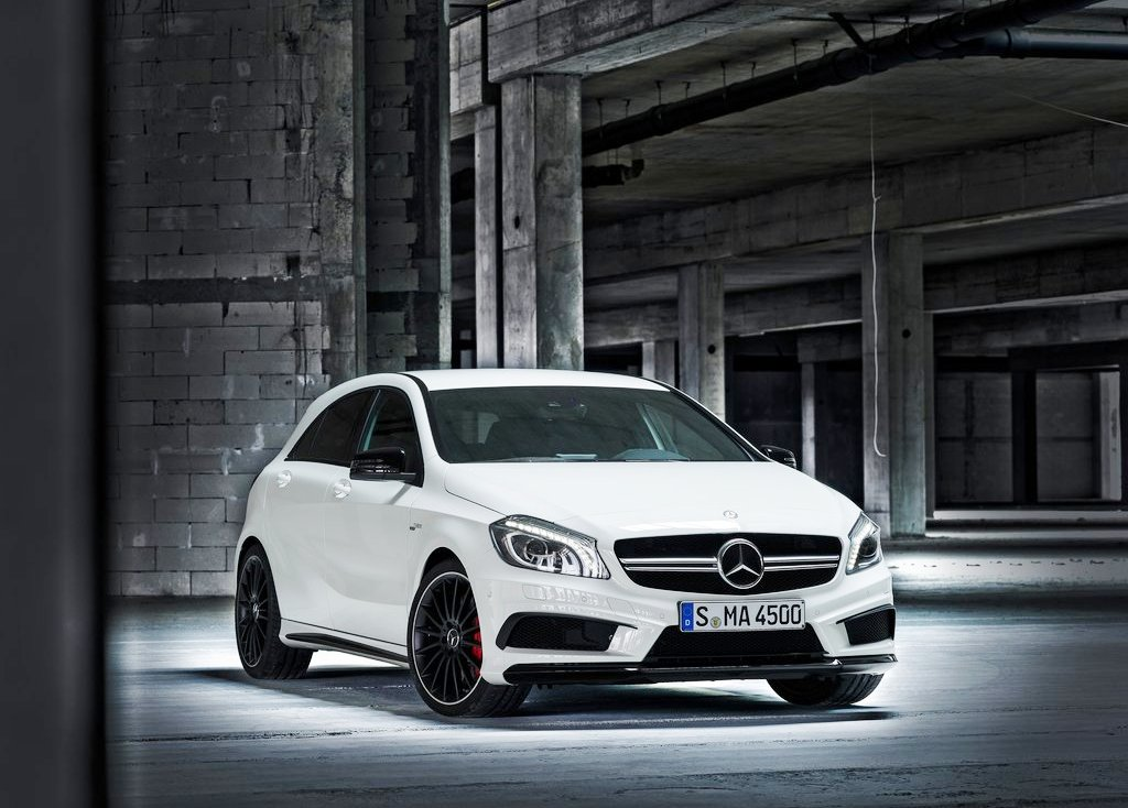 Featured Image of 2014 Mercedes Benz A45 AMG Unveils At Geneva