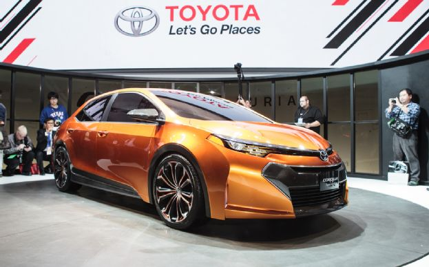 Featured Image of 2013 Toyota Corolla Furia Concept Comes To Detroit