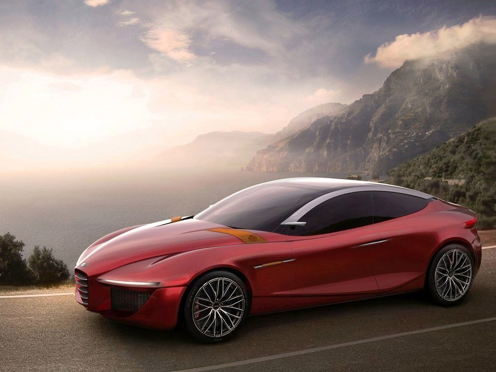 2013 Alfa Romeo Gloria Concept Wallpaper (Photo 6 of 6)