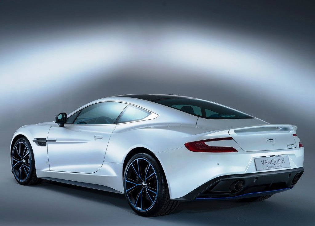 2013 Aston Martin Vanquish Q Rear Angle (Photo 6 of 7)