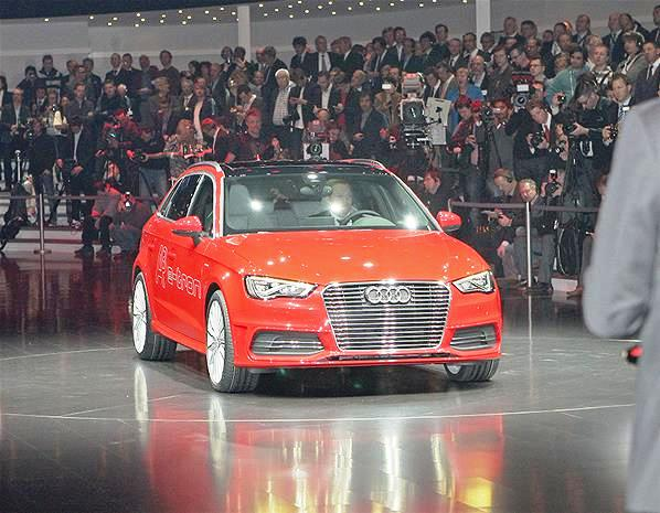 Featured Image of 2013 Audi A3 E Tron Concept Unveiled At Geneva