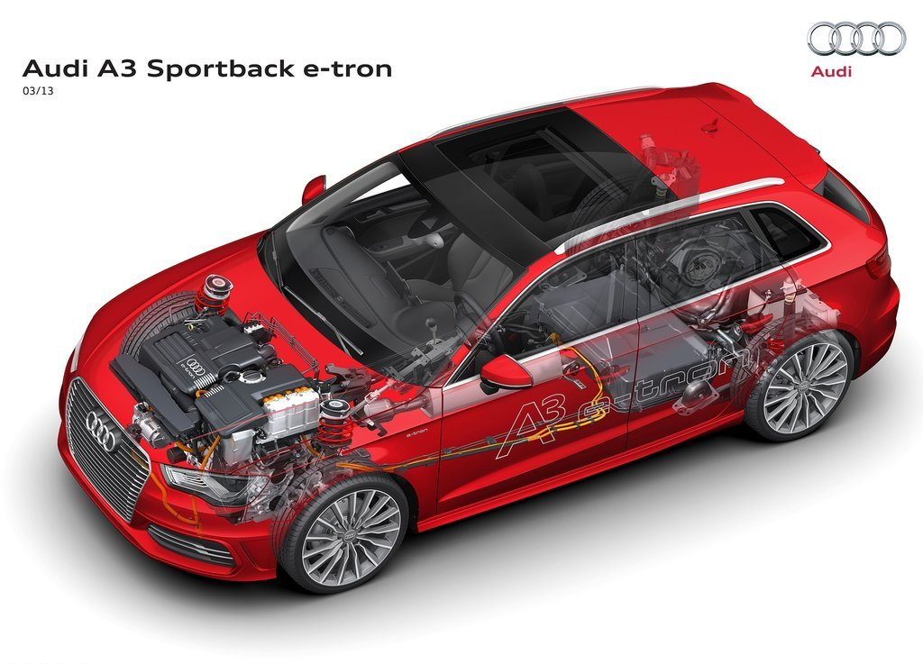 2013 Audi A3 E Tron Concept Powertrain (Photo 4 of 8)
