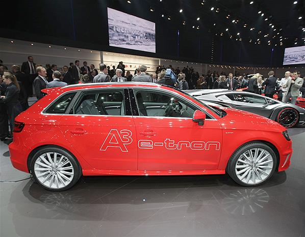 2013 Audi A3 E Tron Concept Unveiled At Geneva (Photo 7 of 8)
