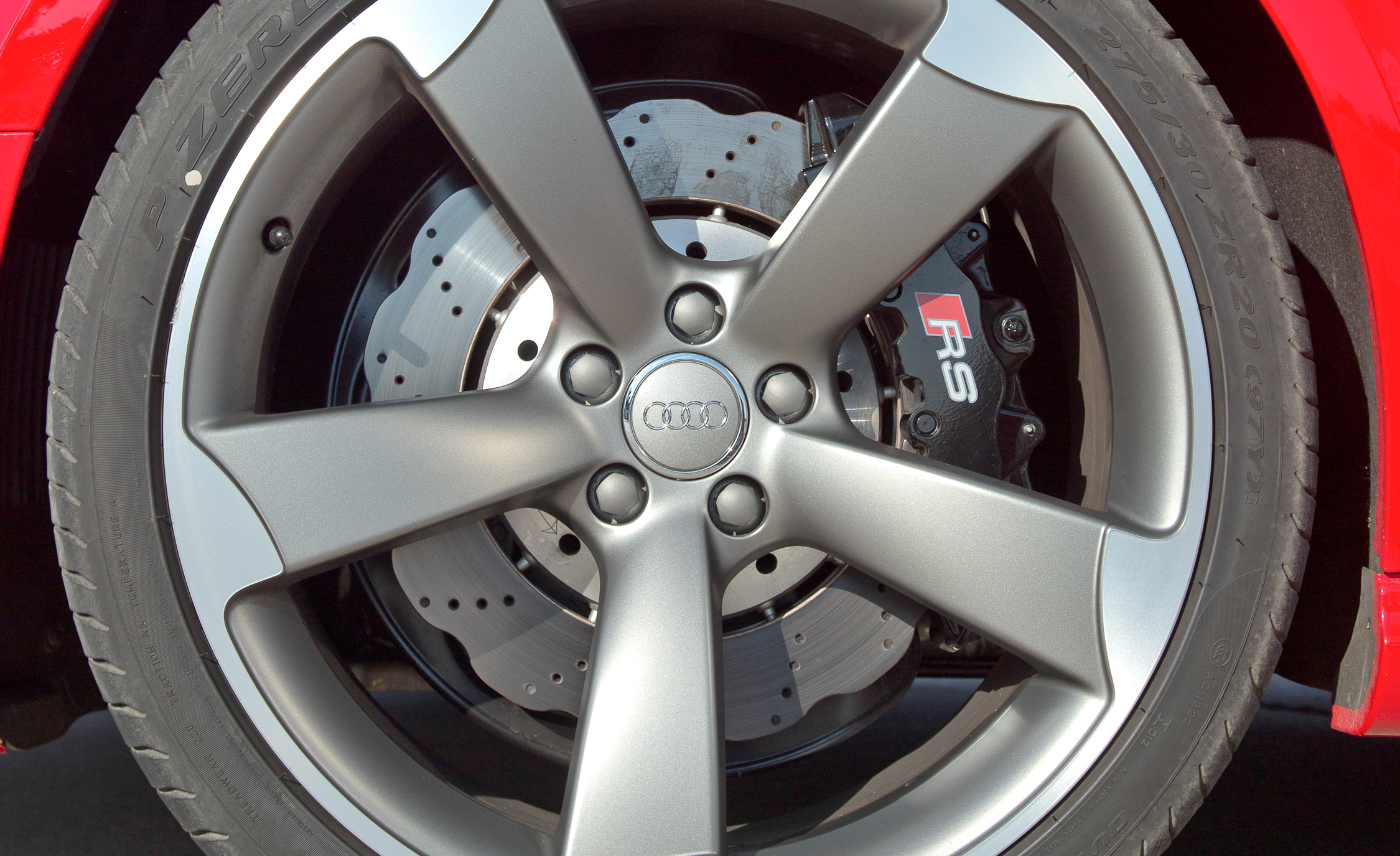 2013 Audi RS 5 Exterior View Wheel Break Caliper And Velg (Photo 18 of 41)