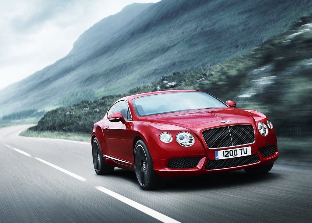 Bentley Continental GT V8 Luxury Sport Car (Photo 3 of 26)