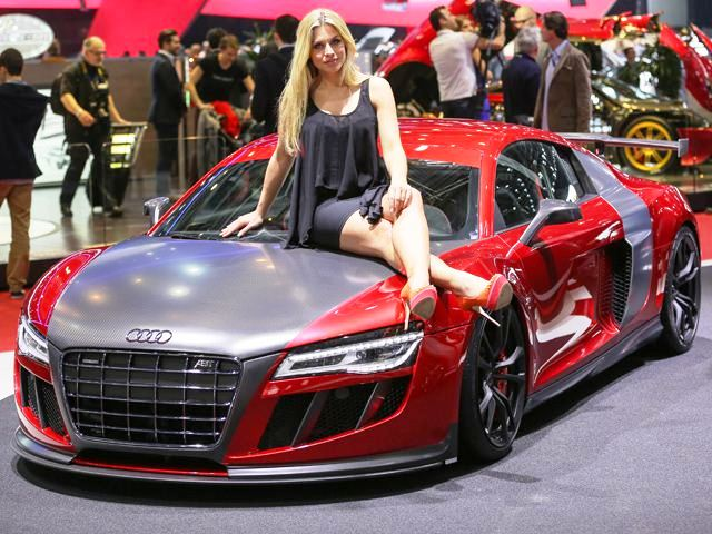 2013 Geneva Motor Show Girls (Photo 9 of 19)