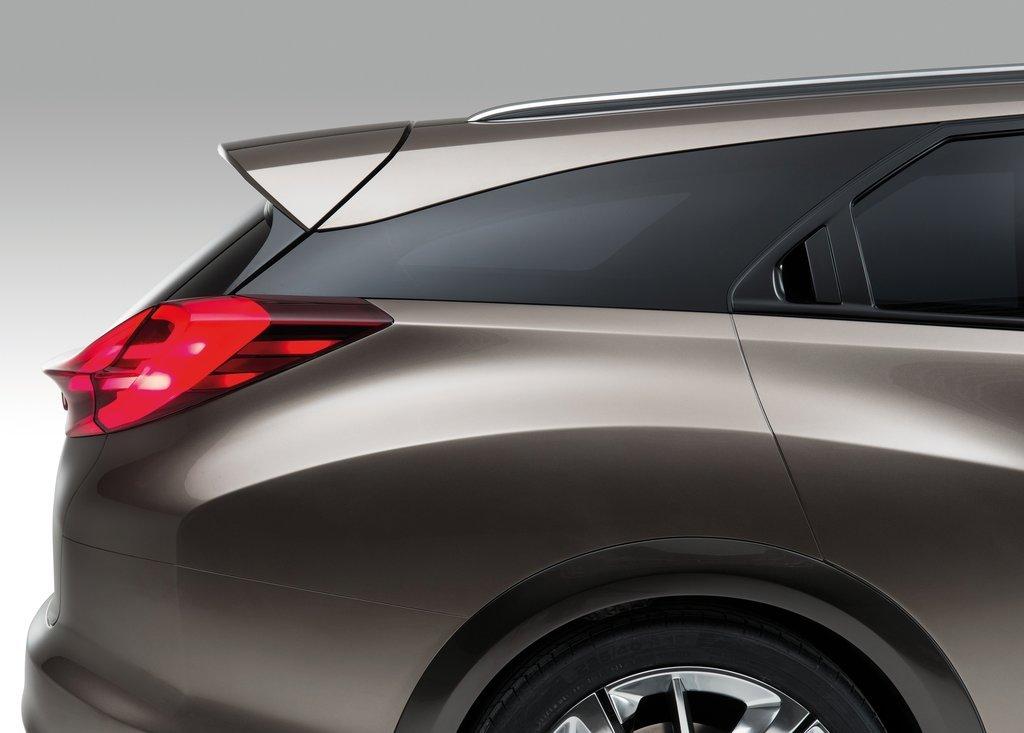 2013 Honda Civic Tourer Concept Exterior (View 2 of 6)