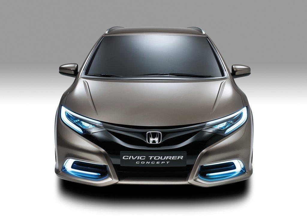 2013 Honda Civic Tourer Concept Front View (View 3 of 6)