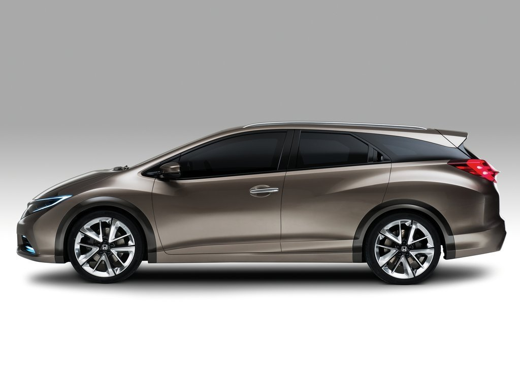 2013 Honda Civic Tourer Concept Side View (Photo 5 of 6)