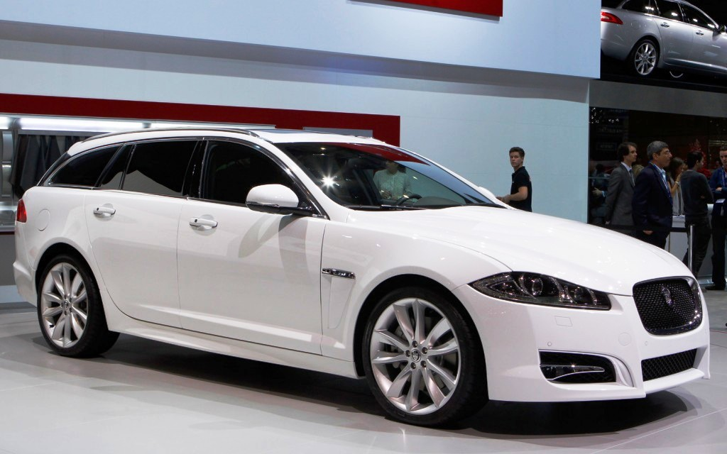 2013 Jaguar XF Sportbrake Unveiled (View 6 of 9)