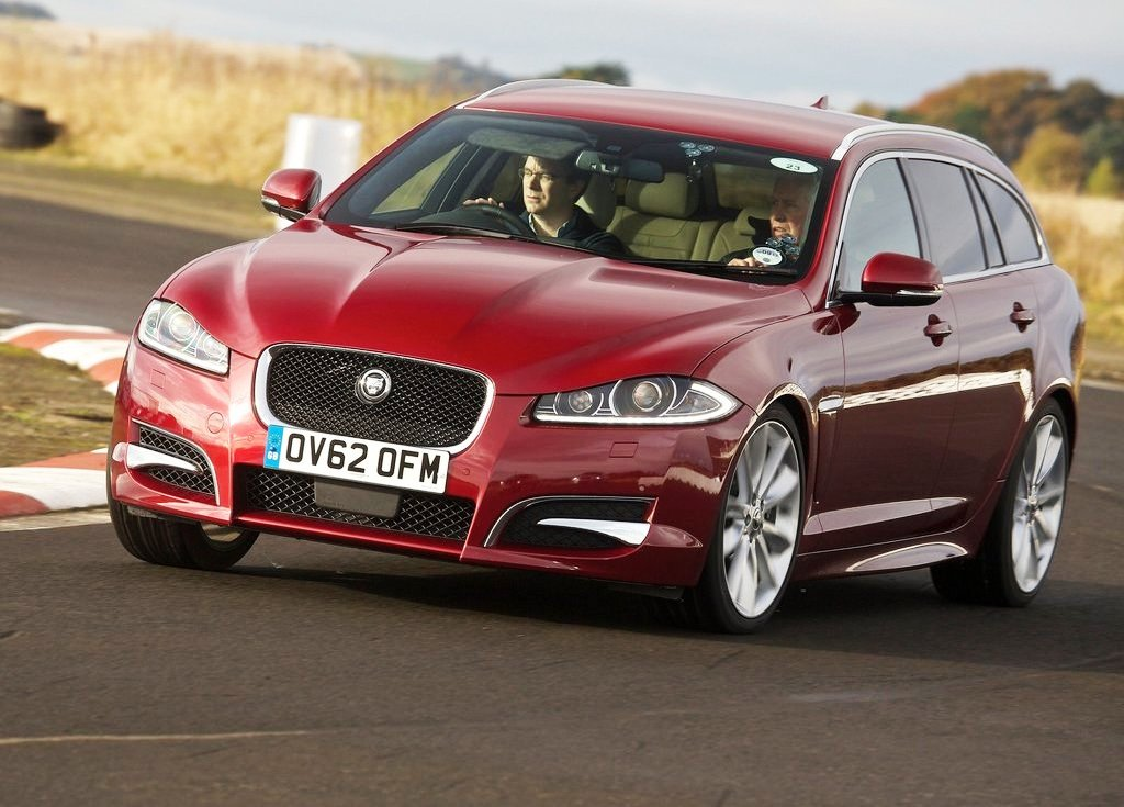 2013 Jaguar XF Sportbrake Wallpaper (View 7 of 9)