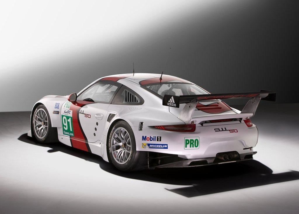 2013 Porsche 911 RSR Exterior Design (Photo 2 of 6)