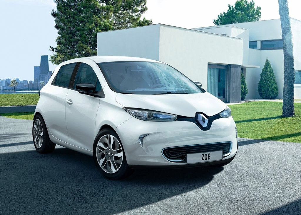 2013 Renault ZOE Front Angle (View 4 of 10)