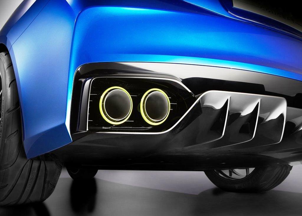 2014 Subaru WRX Concept Exhaust (Photo 2 of 10)