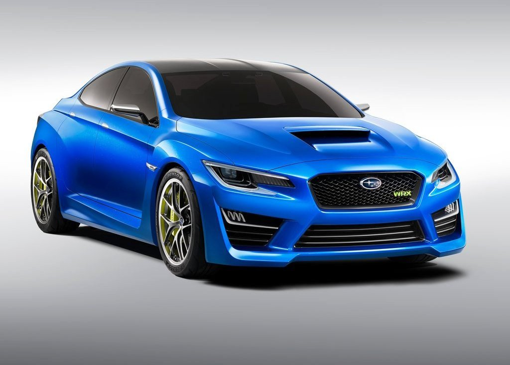 Featured Image of 2014 Subaru WRX Concept Unveiled At New York