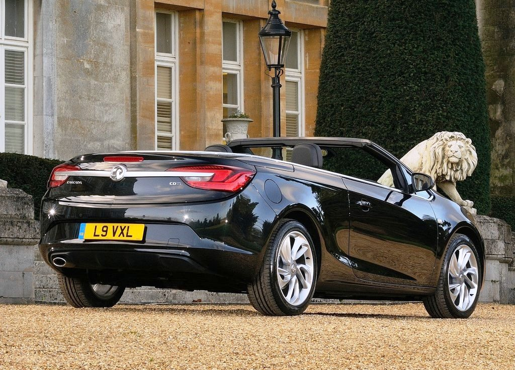 2013 Vauxhall Cascada Exterior View (Photo 3 of 8)