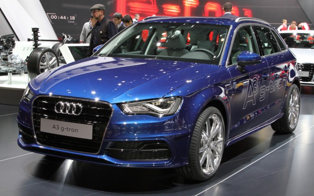 2014 Audi A3 Sportback G Tron At Geneva Motor Show (View 1 of 10)