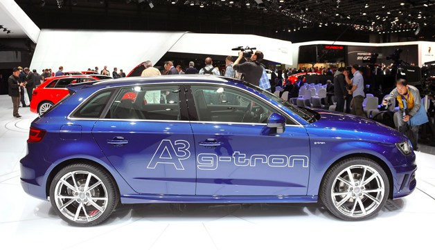 2014 Audi A3 Sportback G Tron At Geneva (Photo 2 of 10)