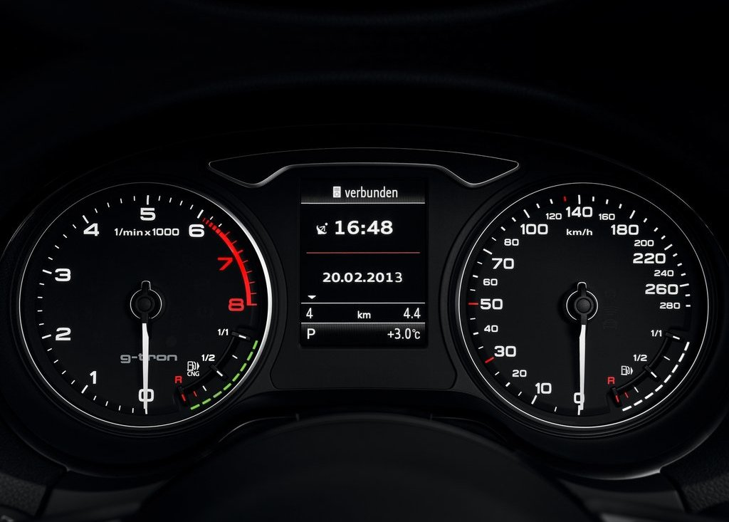 2014 Audi A3 Sportback G Tron Dashboard (Photo 4 of 10)