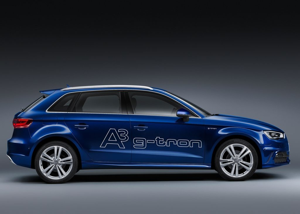 2014 Audi A3 Sportback G Tron Side View (Photo 9 of 10)