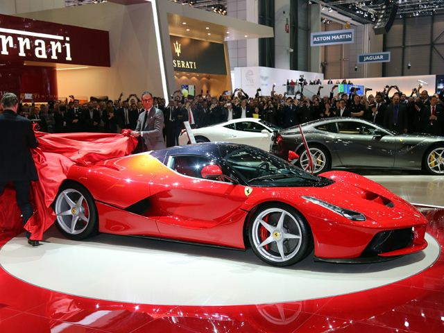2014 Ferrari LaFerrari At Geneva Motor Show (View 7 of 8)