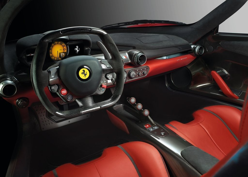2014 Ferrari LaFerrari Interior (View 2 of 8)