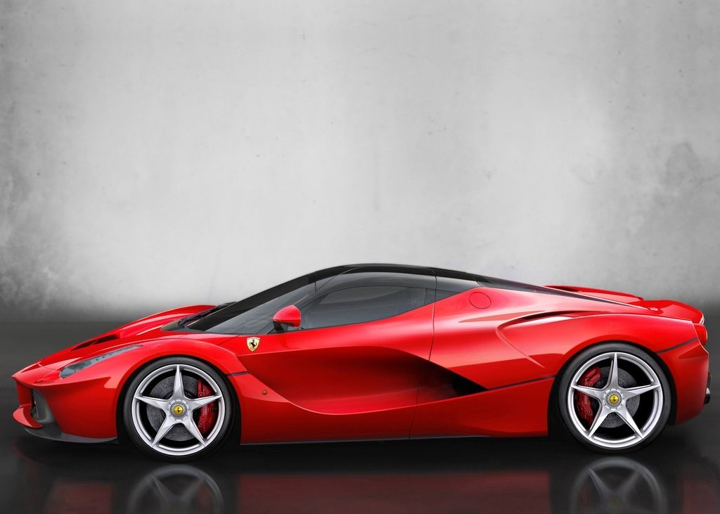 2014 Ferrari LaFerrari Side View (View 4 of 8)