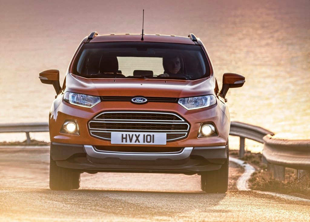 2014 Ford EcoSport EU Version Front View (Photo 2 of 7)