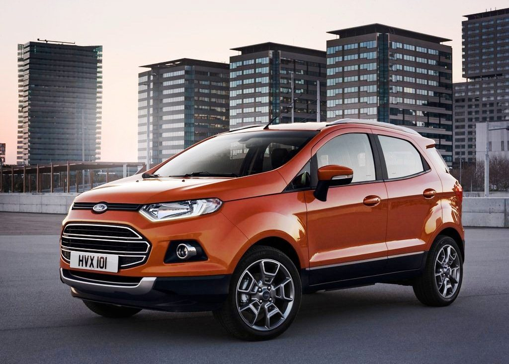 2014 Ford EcoSport EU Version Pictures (Photo 5 of 7)