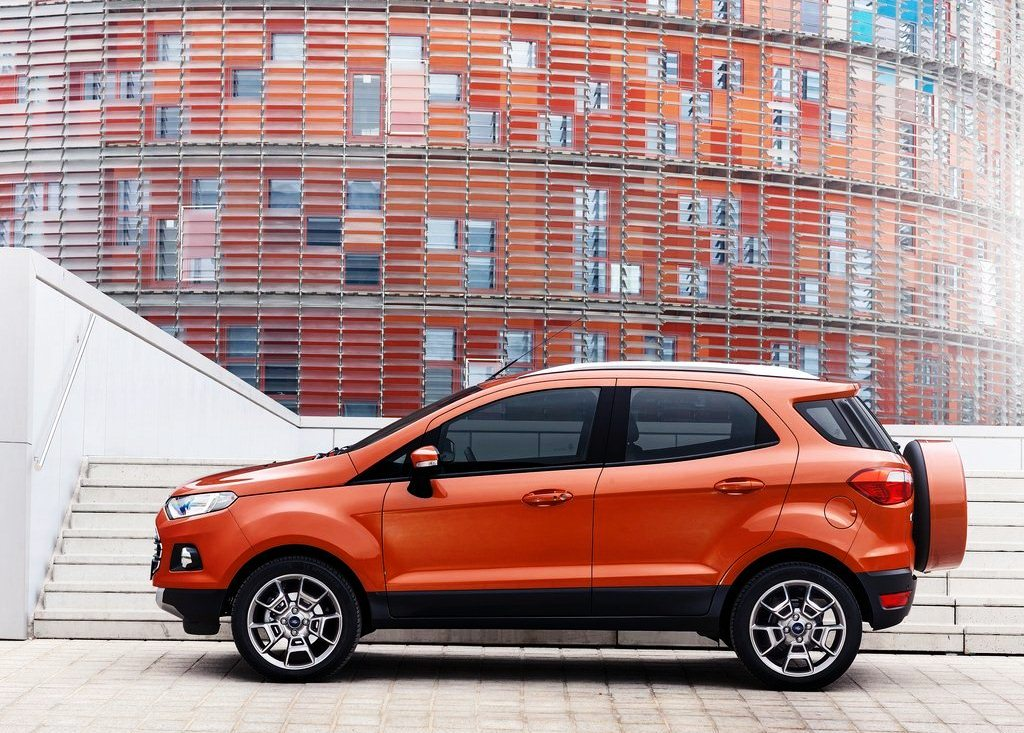 2014 Ford EcoSport EU Version Side View (Photo 6 of 7)
