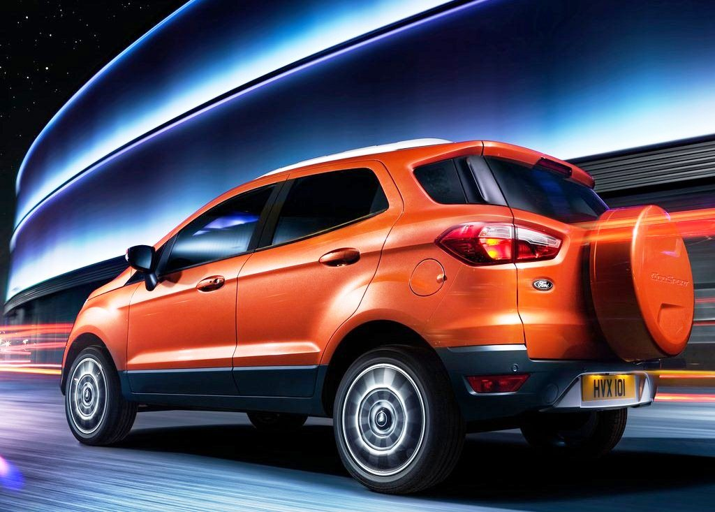 2014 Ford EcoSport EU Version Wallpaper (Photo 7 of 7)