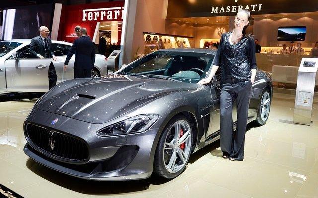 2014 Maserati GranTurismo MC Stradale At Geneva Motor Show (Photo 1 of 5)