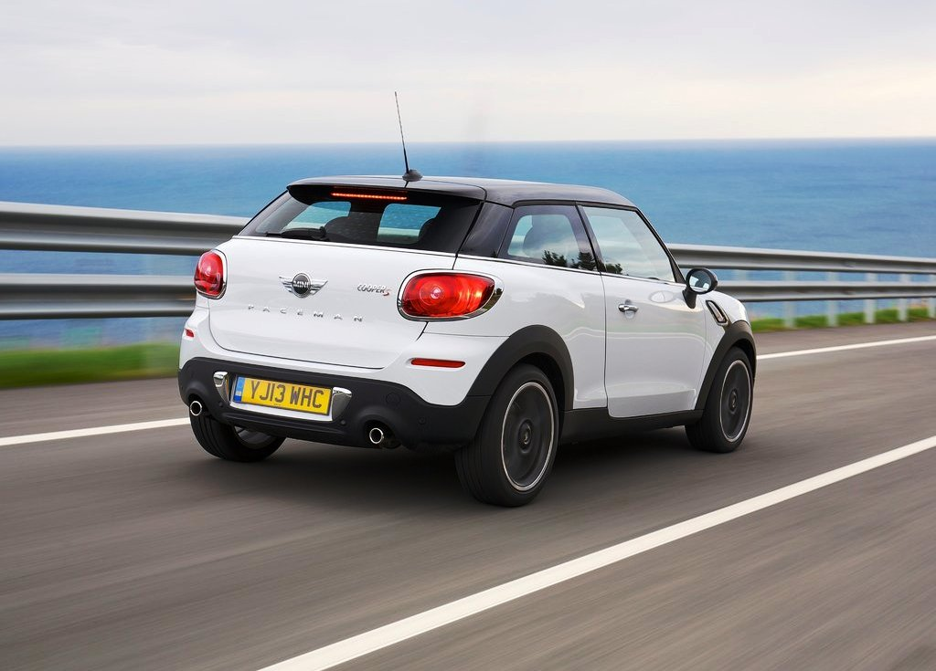 2014 Mini Paceman Rear Angle (Photo 6 of 8)