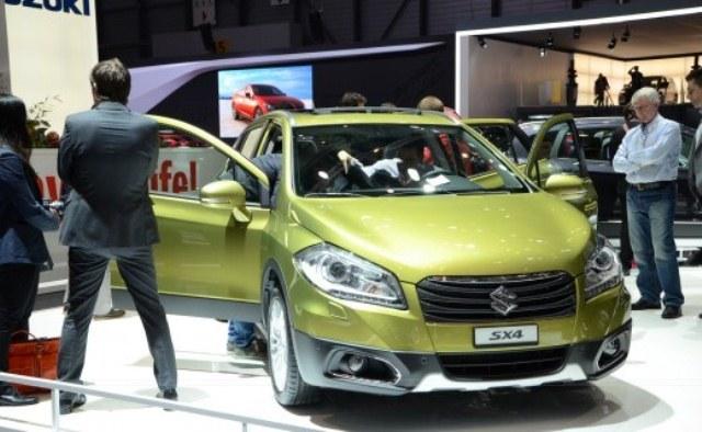 2014 Suzuki SX4 Revealed At Geneva (View 5 of 9)