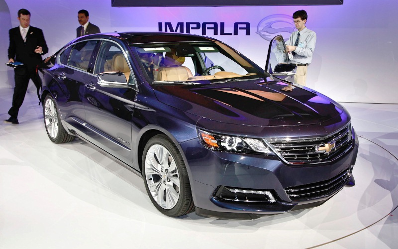 2014 Chevrolet Impala Pictures (Photo 4 of 8)